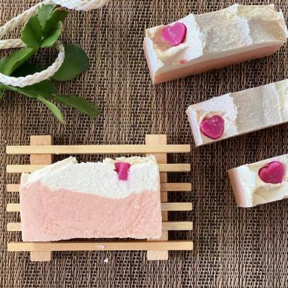 Natural Handmade Soap Tropical Hear..