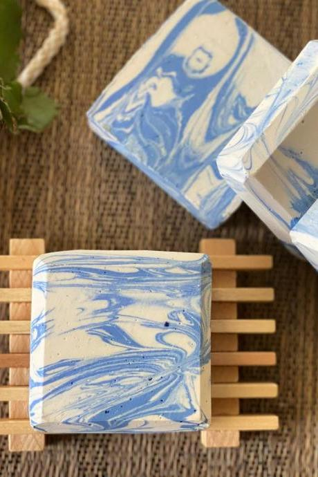 Handmade Natural Soap peppermint fragrance soap , Artisan soap